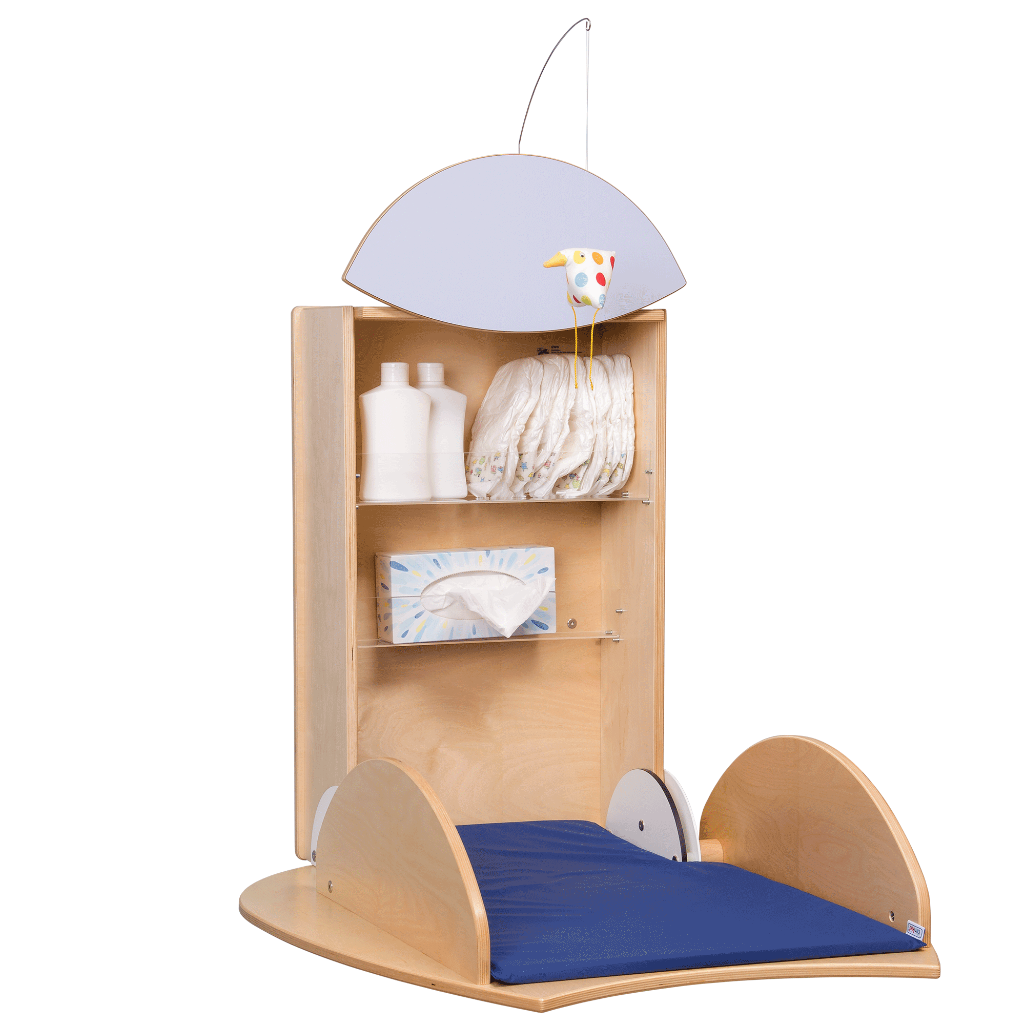 changing table owo birch top light blue timkid company rh timkid de