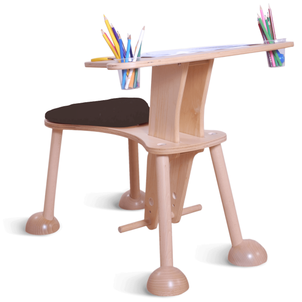 clexo colouring table wood