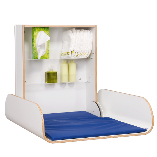 wallmounted changing table kawaform