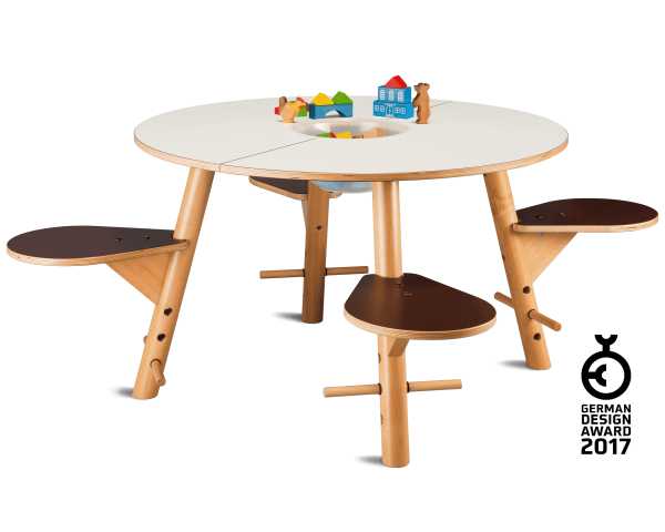 tavi white play table - German Design Award 2017