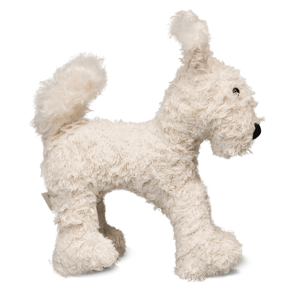 fritz - the timkid dog as a stuffed animal